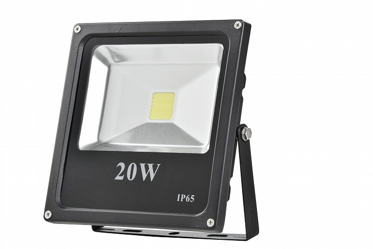 Прожектор Floodlight LED FD1002 20W RGB BLACK s pultomP65 (TT) 224-03215_0